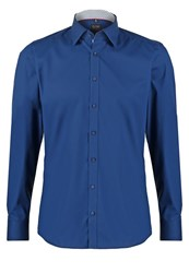 Olymp Level 5 Slim Fit Shirt Dunkelblau Dark Blue