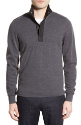 Men's Jack Spade 'Bayfield' Pullover Sweater Heather Charcoal