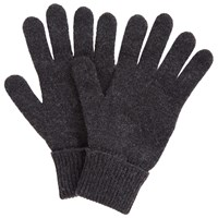 John Lewis Cashmere Gloves Charcoal