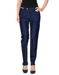 Pt0w Casual Pants Dark Blue