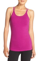 Hard Tail Women's 'Double Cross' Stretch Cotton Camisole