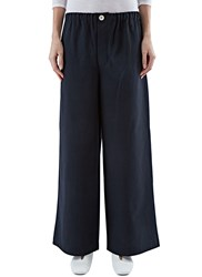 Marvielab High Waisted Wide Leg Pants Black