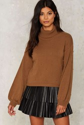 Felice Turtleneck Sweater Olive