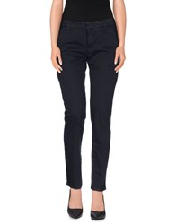 Entre Amis Trousers Casual Trousers Women Dark Blue