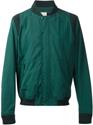 Band Of Outsiders Ribbed Baseball Jacket