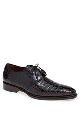 Men's Mezlan 'Marini' Alligator Leather Derby Blue