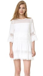 Endless Rose Woven Dress White