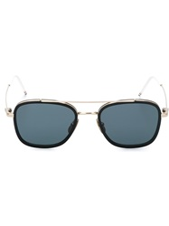 Thom Browne Square Frame Sunglasses Black