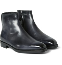 Berluti Shearling Lined Leather Boots