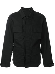 Blk Dnm Denim Worker Jacket Black