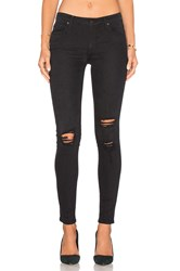 Black Orchid Jude Mid Rise Super Skinny Black Rock