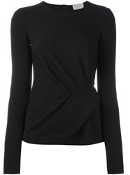 Lanvin Wrap Detail Blouse Black