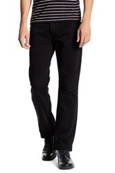 True Religion Flap Pocket Straight Leg Jean Black
