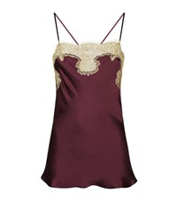 Gilda And Pearl Silk Lace Camisole Female Multi