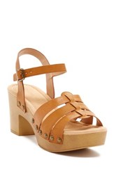 Restricted Cali Chunky Heel Sandal Brown