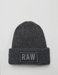 G Star Raw Beanie Grey