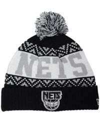 New Era New Jersey Nets Biggest Christmas Knit Hat