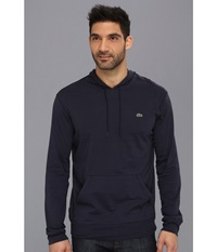 Lacoste Jersey T Shirt Hoodie Navy Blue Men's Sweatshirt