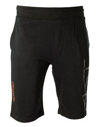 Kappa French Terry Athletic Shorts Black