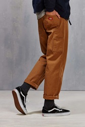 Dickies Relaxed Fit Straight Leg Carpenter Pant Brown