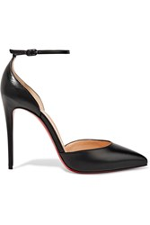 Christian Louboutin Uptown 100 Leather Pumps Black