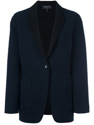 Rag And Bone Single Button Blazer Blue