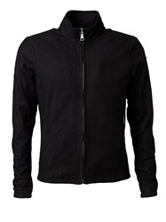 Giorgio Brato Fitted Zipped Jacket Black