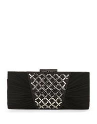 Sasha Embellished Clutch Black