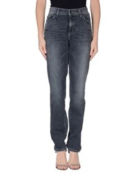 Cambio Denim Denim Trousers Women Black