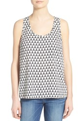 Women's Pleione Racerback Tank Black Triangle