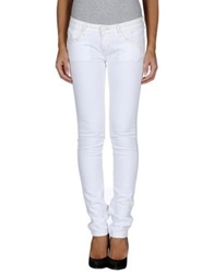 Maison Scotch Denim Pants White
