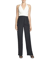 Cynthia Steffe Blake Color Block Jumpsuit Rich Black