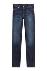 7 For All Mankind Seven For All Mankind Straight Leg Jeans Blue