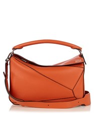 Loewe Puzzle Leather Bag Coral