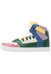 Your Turn Hightop Trainers Multicolor Black