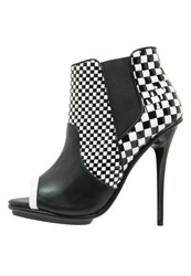 Gx By Gwen Stefani Talent Platform Boots Black White