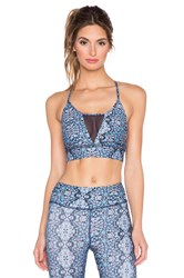 Gypsy 05 Active Crop Top Blue