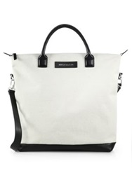 Want Les Essentiels Ohare Shopper Tote White Black
