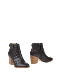 Thakoon Addition Footwear Ankle Boots Women Dark Brown