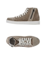 Cafe'noir Cafenoir Footwear High Tops And Trainers Men Dove Grey