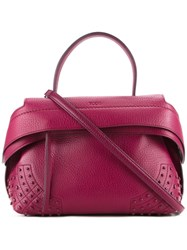 Tod's Small Tote Red