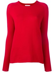 6397 Crew Neck Jumper Red