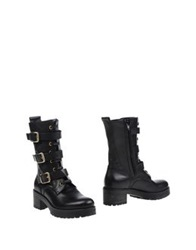 Geste Proposition Ankle Boots Black