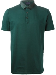 Lanvin Classic Polo Shirt Green
