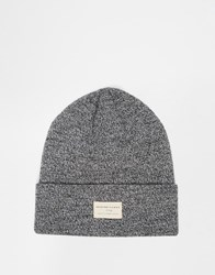 Selected Homme Ethan Beanie Hat Grey
