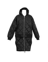 Hood By Air Against Quilted Bomber Black