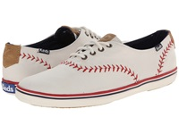 Keds Champion Pennant Off White Women's Lace Up Casual Shoes Beige