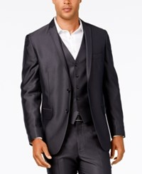 Inc International Concepts Men's Dave Classic Fit Blazer Only At Macy's Charcoal