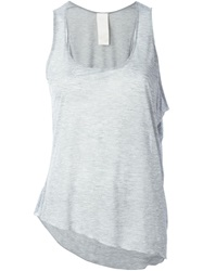 Luxury Fashion Asymmetric Hem Tank Top