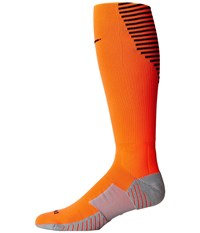 Nike Stadium Football Otc Total Orange Black Black Knee High Socks Shoes